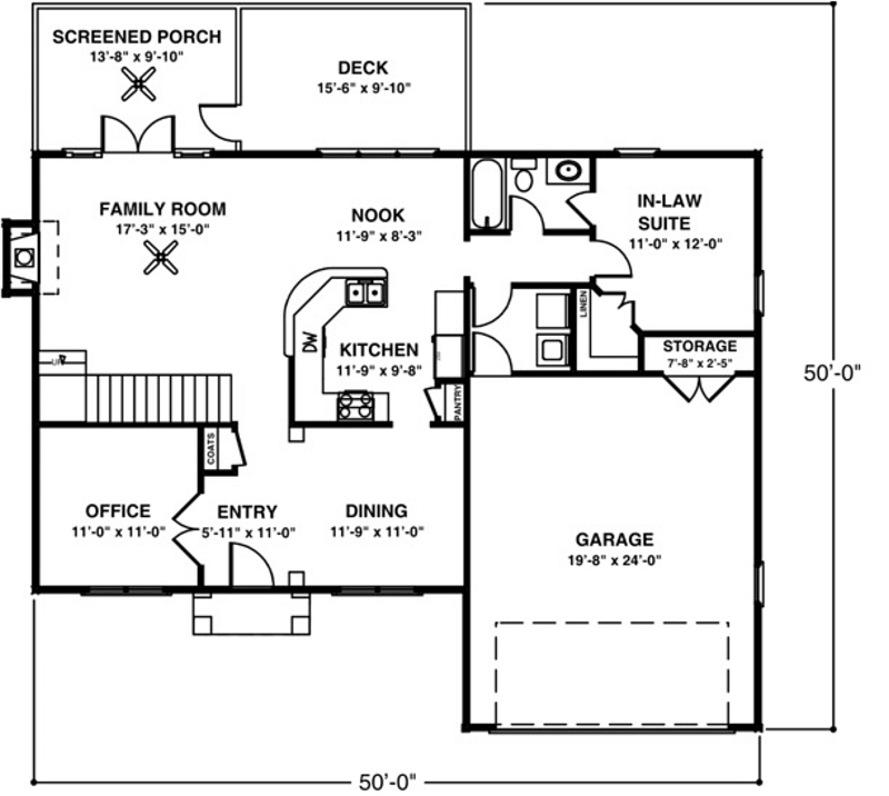 Colonial house plan 1 to be built homes bouffard for Houses with inlaw suites for sale near me