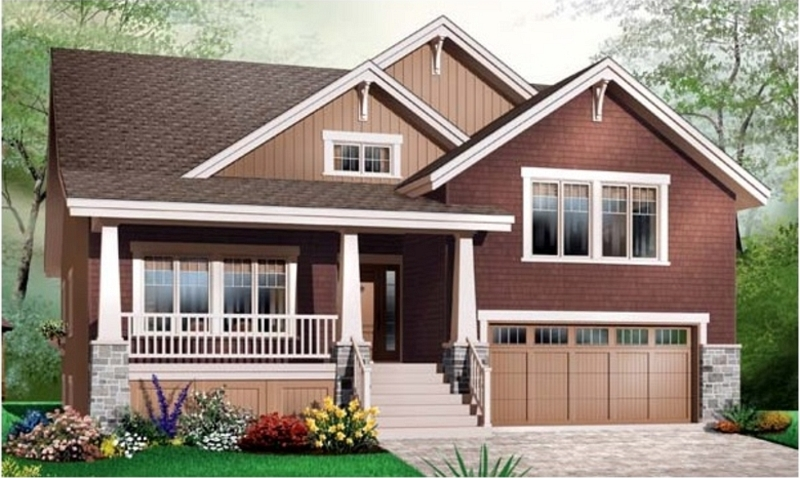 Split Level Plan 1 To Be Built Homes Bouffard Mcfarland Builders Colonial Ranch Cape Victorian Contemporary